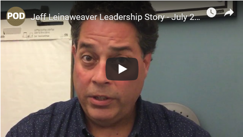 Leadership story with Jeff Leinaweaver
