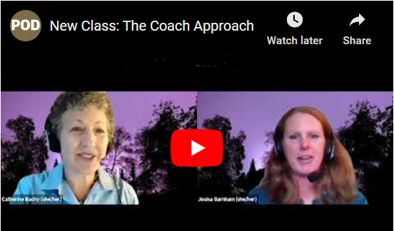 New leadership class: The Coach Approach