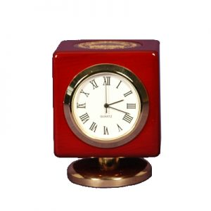 30 yrs award Cube Desk Clock