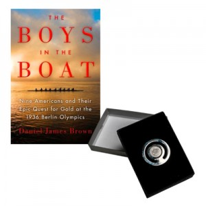 "10 yrs Award ""Boys in the Boat""and Bookmark Set"