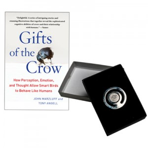 "10 yr Award ""Gift of the Crow"""