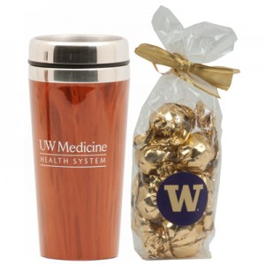 10 yrs Award UW Medicine Travel Mug & Truffles
