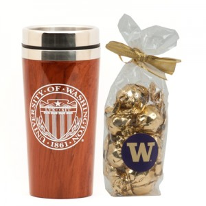 10 yrs Award University Seal Travel Mug & Truffles