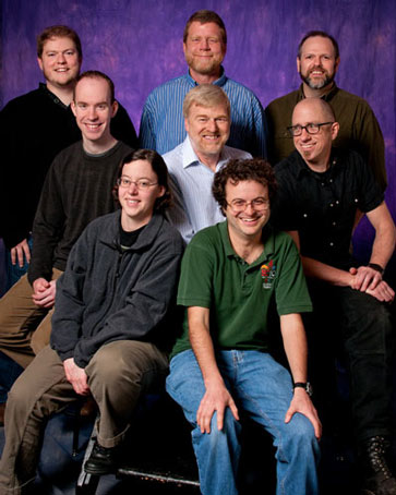 Photograph of Genome Sciences Information Tech Team